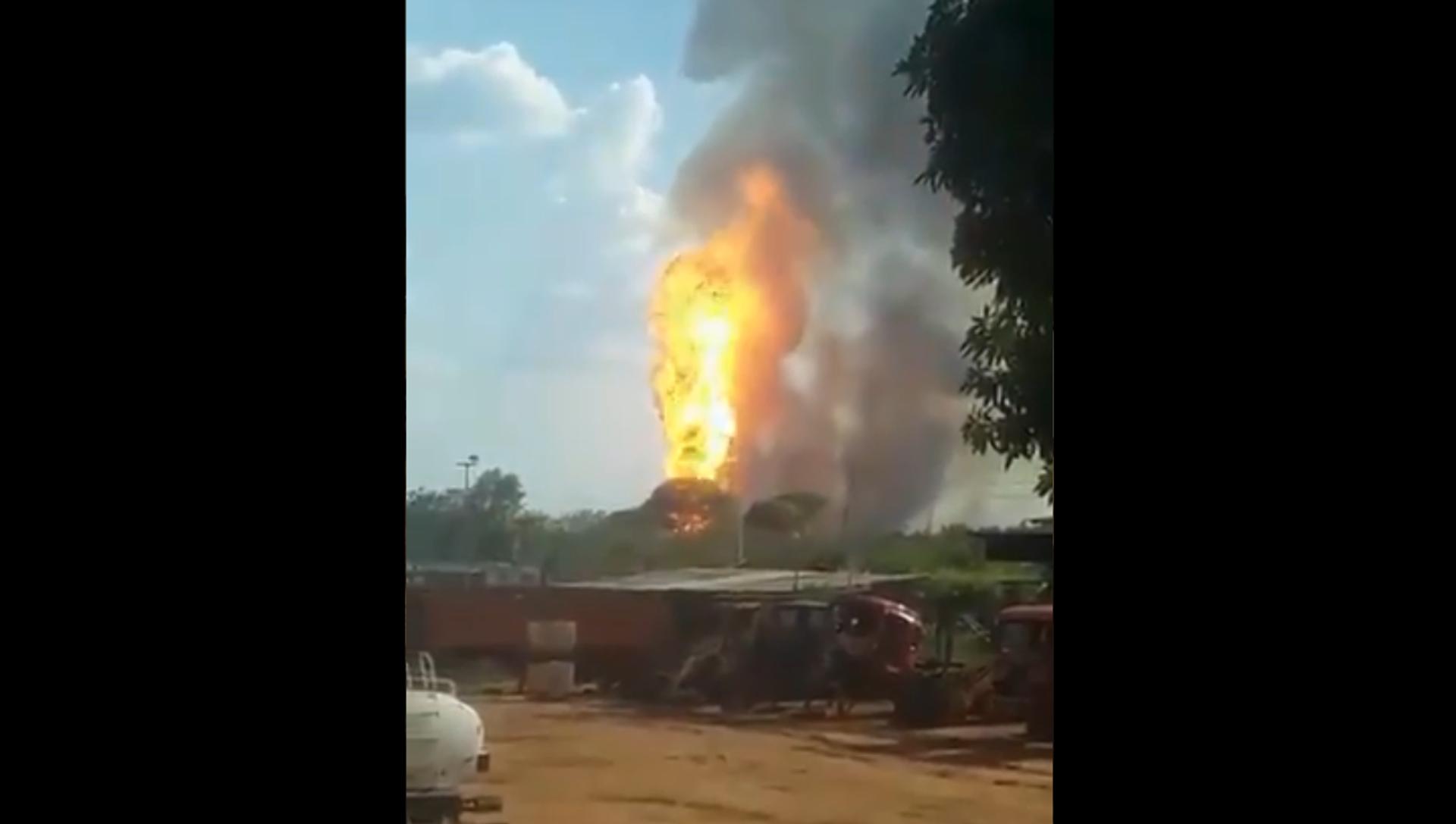 Esplosione in gasdotto venezuelano - Sputnik Italia, 1920, 21.03.2021