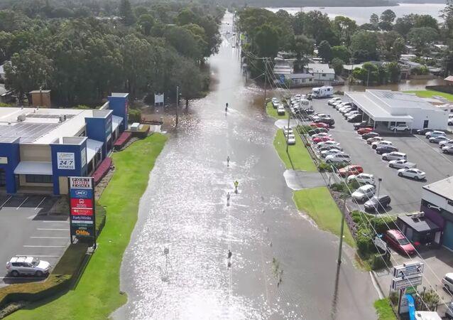 Sobborghi di Sydney alluvionati