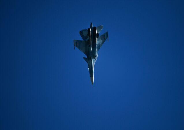 Caccia russo Su-30SM (foto d'archivio)