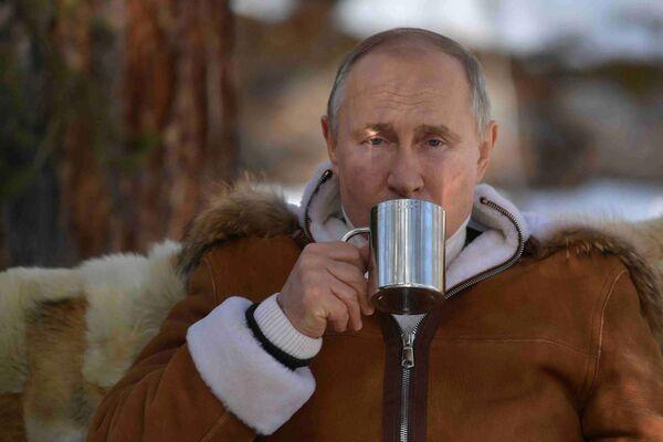 Riposo di Putin e ministro Difesa Shoigu in Siberia - Sputnik Italia