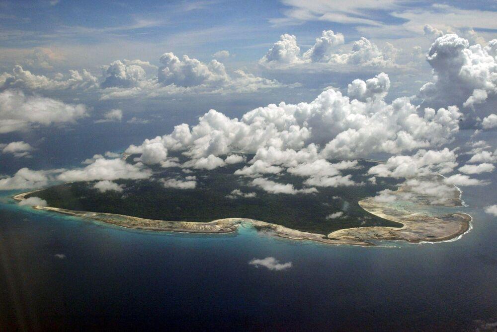 Vista sull'isola di North Sentinel