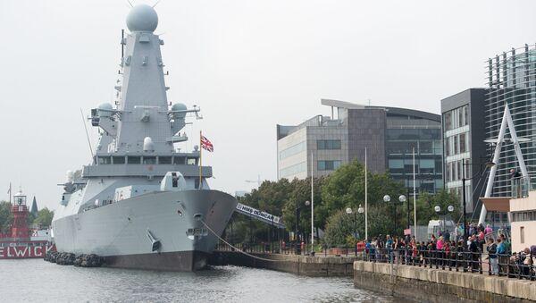 nave guerra UK  - Sputnik Italia