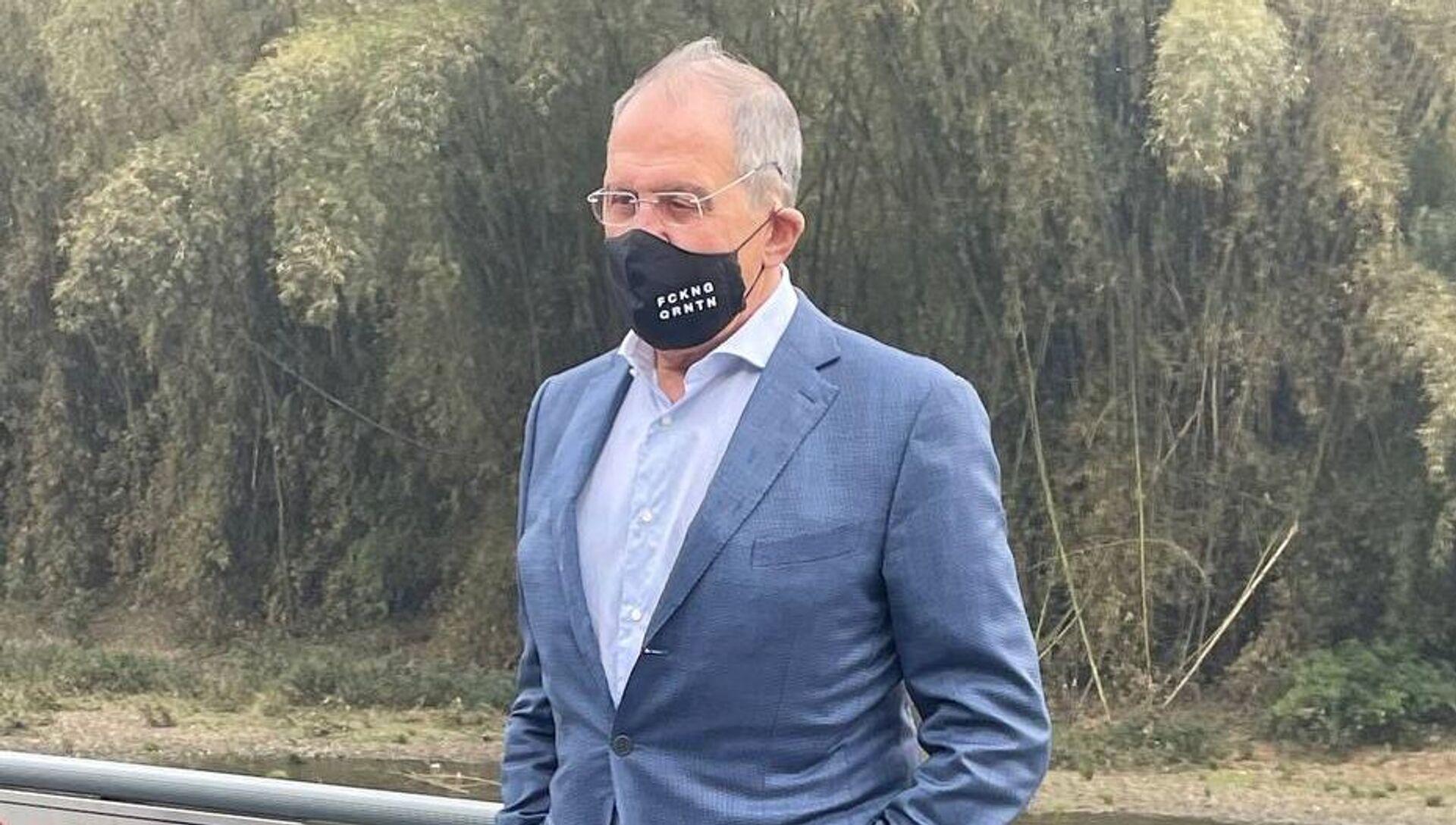 Il ministro degli Esteri russo Sergei Lavrov in Cina - Sputnik Italia, 1920, 22.03.2021