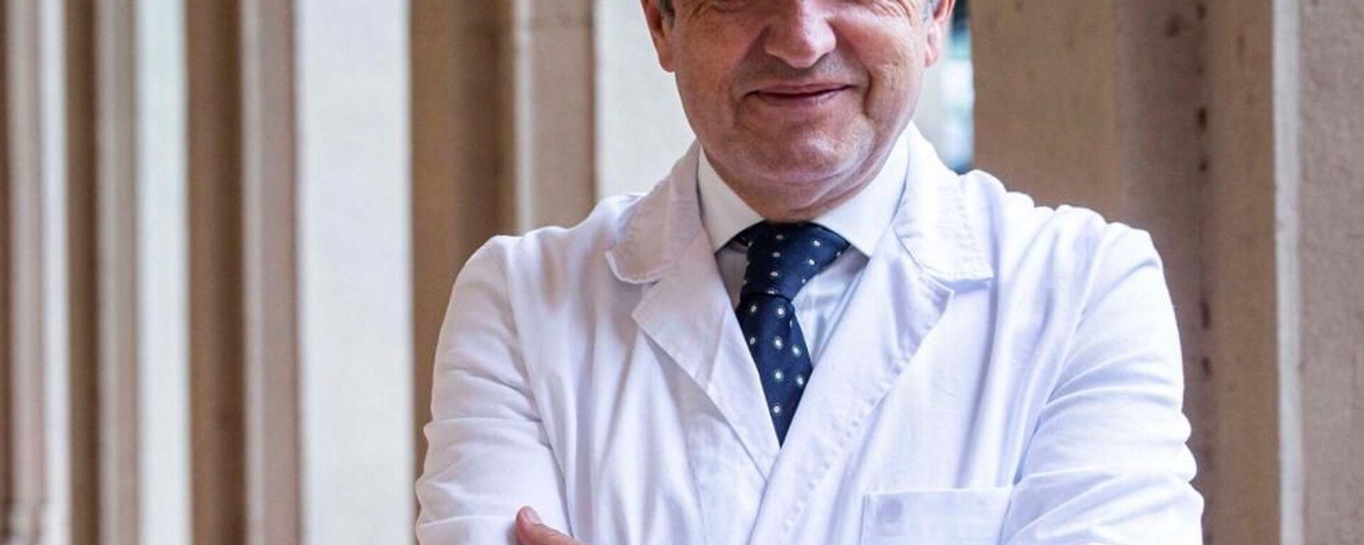 Francesco Vaia, direttore sanitario dell'Istituto Spallanzani di Roma - Sputnik Italia, 1920, 14.06.2021