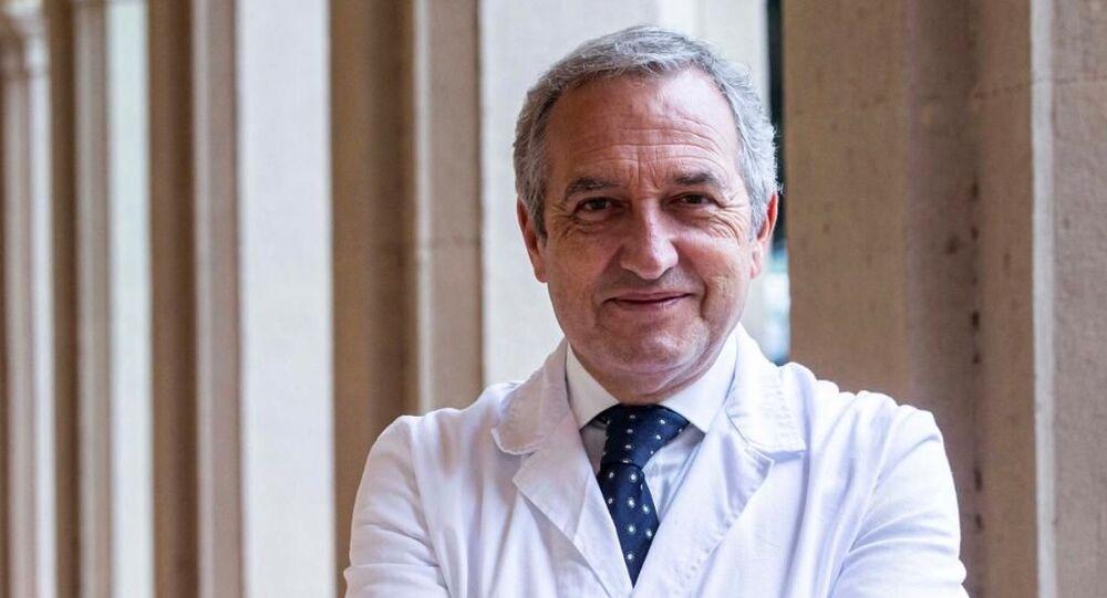 Francesco Vaia, direttore sanitario dell'Istituto Spallanzani di Roma