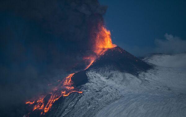 Eruzione dell'Etna - Sputnik Italia