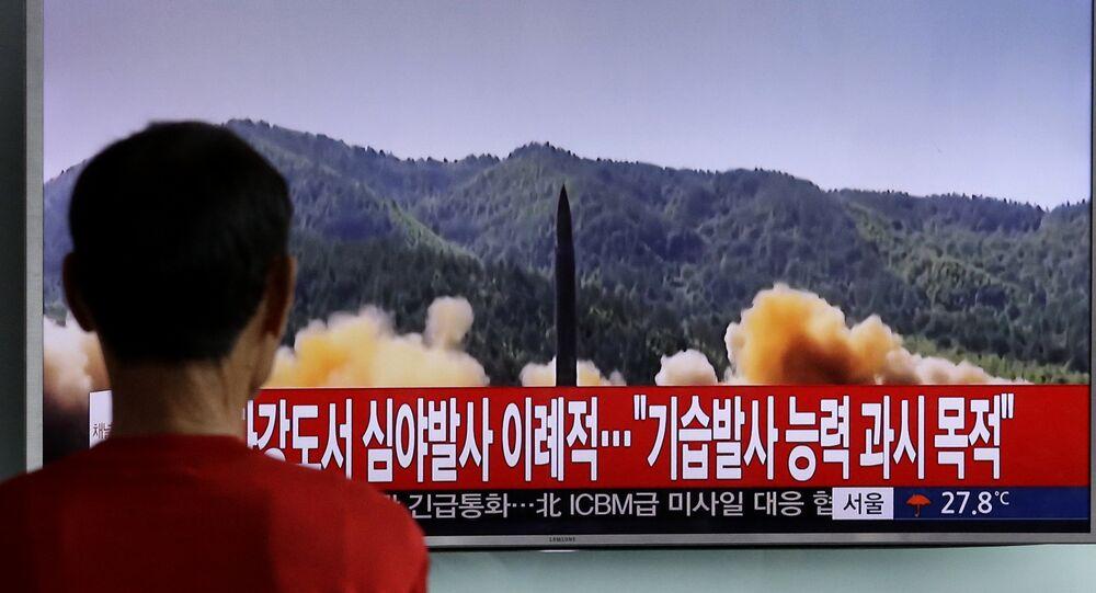 Un test per il lancio di missili in Corea del Nord