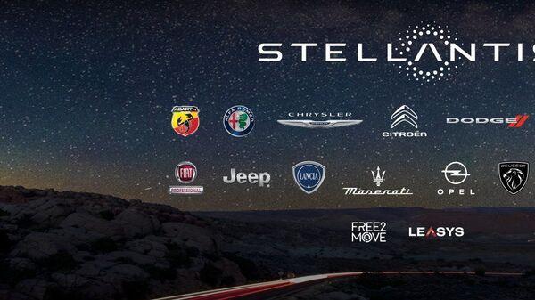 Stellantis logo - Sputnik Italia