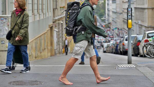 Un turista per le strade di Vienna - Sputnik Italia