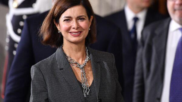 Laura Boldrini, politica italiana, già funzionaria internazionale delle Nazioni Unite e Presidente della Camera dei deputati - Sputnik Italia