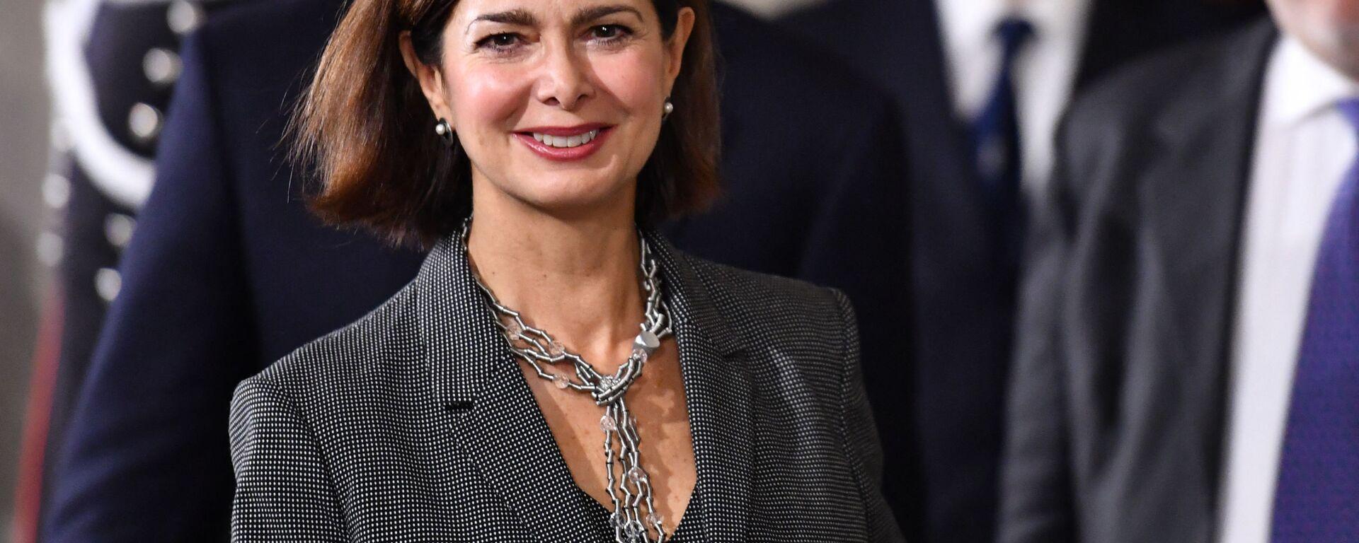 Laura Boldrini, politica italiana, già funzionaria internazionale delle Nazioni Unite e Presidente della Camera dei deputati - Sputnik Italia, 1920, 19.07.2021