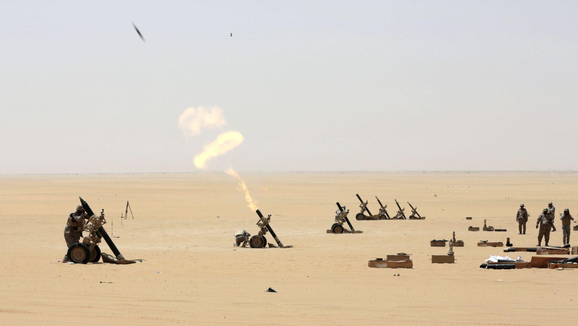 Soldati sauditi impegnati in Najran - Sputnik Italia, 1920, 26.03.2021