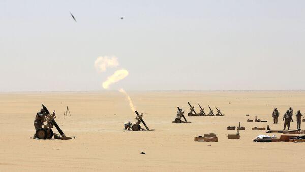 Soldati sauditi impegnati in Najran - Sputnik Italia