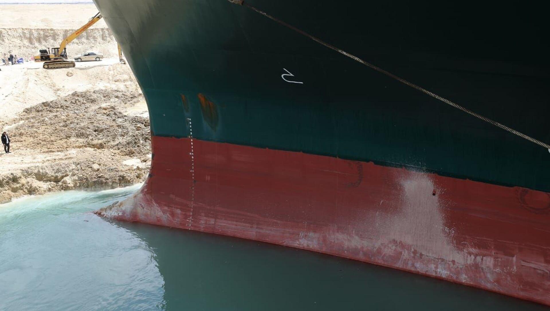 La nave Ever Given nel canale di Suez - Sputnik Italia, 1920, 26.03.2021
