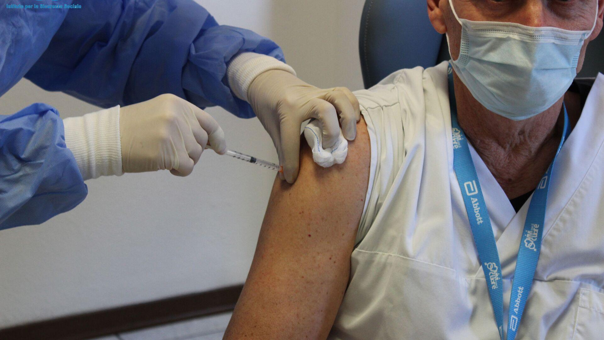 Vaccinazione con Sputnik V a San Marino - Sputnik Italia, 1920, 04.08.2021