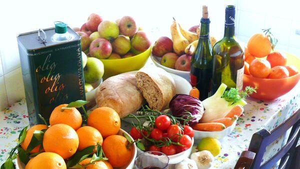 Блюда традиционной средиземноморской диеты - Sputnik Italia
