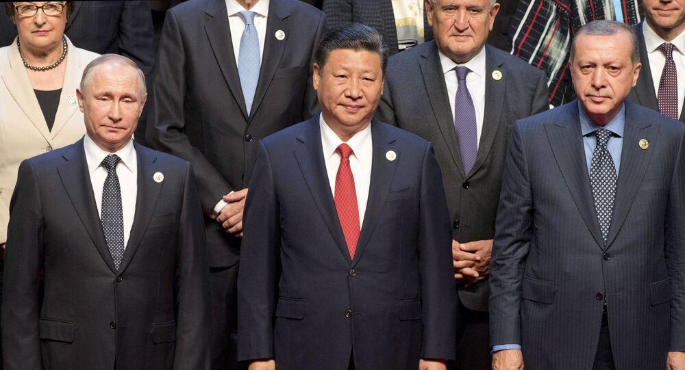 Putin, Xi Jinping, Erdogan