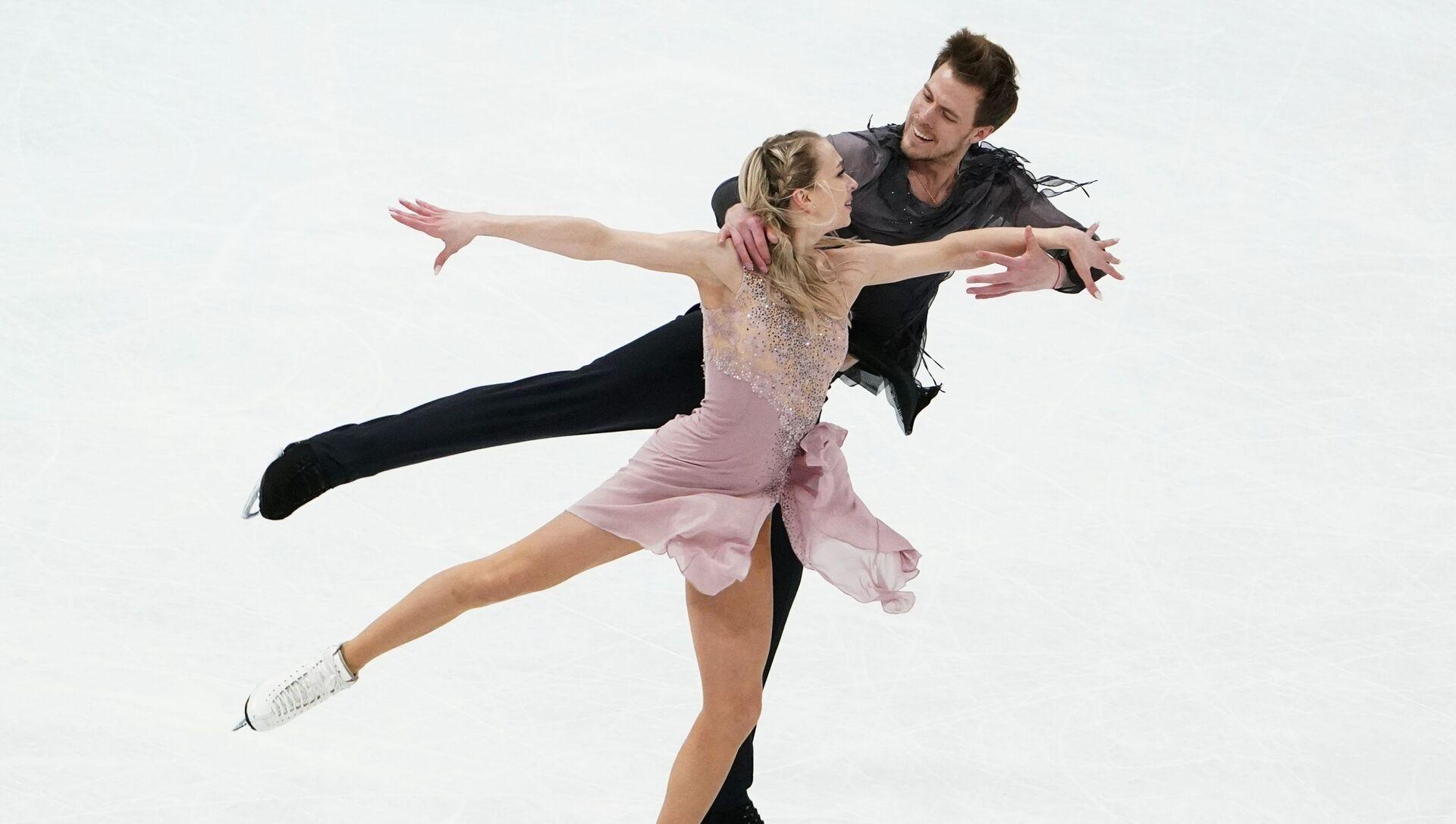 Pattinaggio artistico, danzatori russi Sinitsina-Katsalapov vincono l'oro ai campionati del mondo - Sputnik Italia, 1920, 27.03.2021