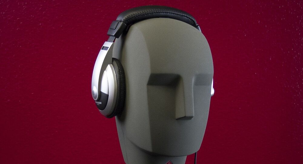 Headphones on a Mannequin