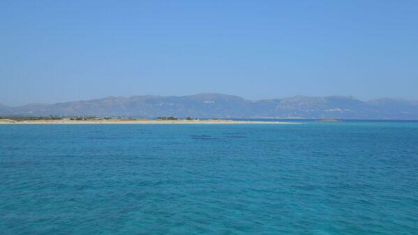 Spiaggia di Pounta, Grecia - Sputnik Italia