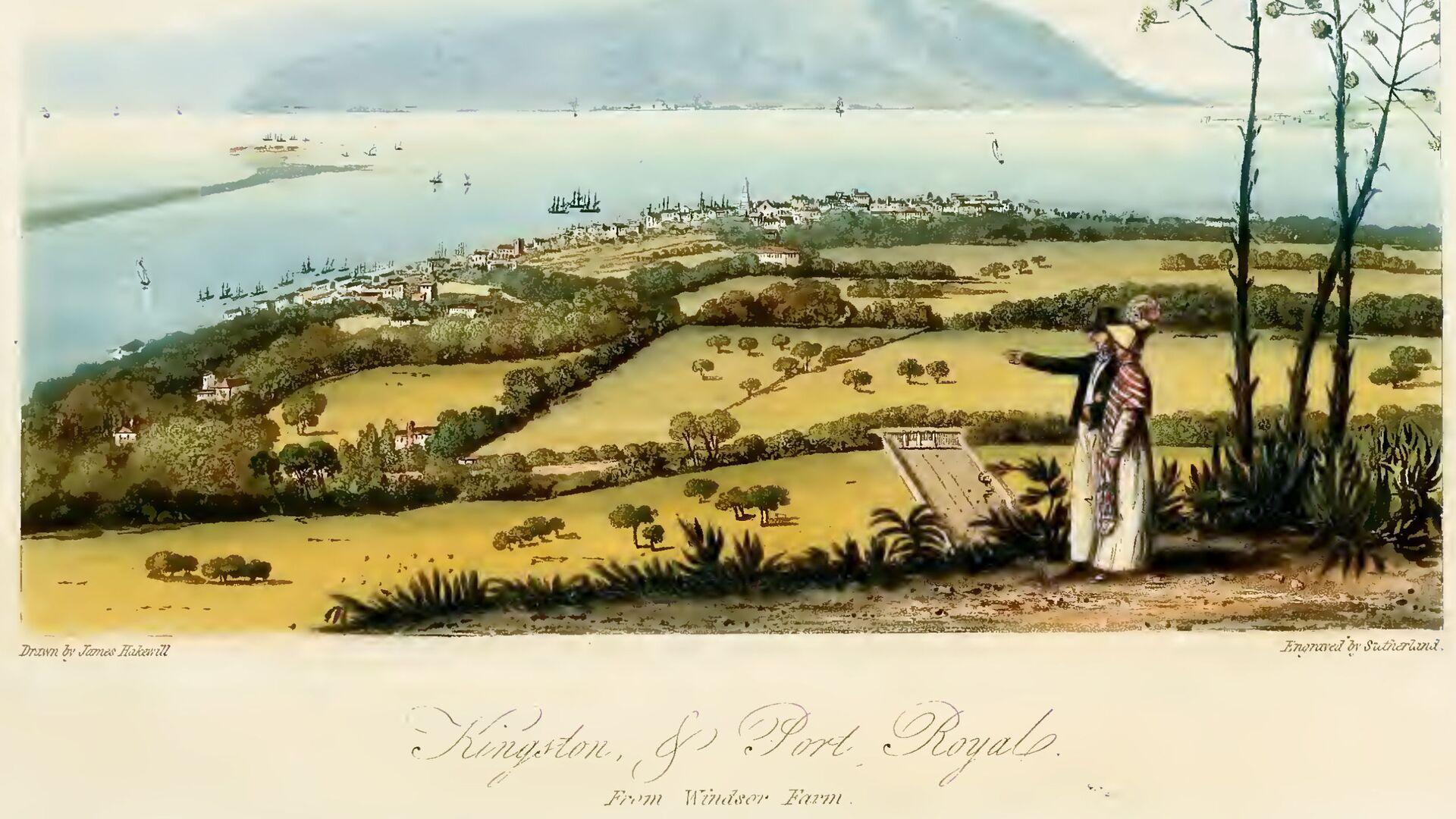 Хэйквилл. Живописный тур по острову Ямайка. Тарелка - Sputnik Italia, 1920, 06.07.2021