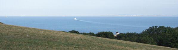 Le bianche scogliere di Dover, una parte del storico posto Doggerland, la terra che, migliaia di anni fa, univa l'Inghilterra alla Germania e alla Danimarca - Sputnik Italia