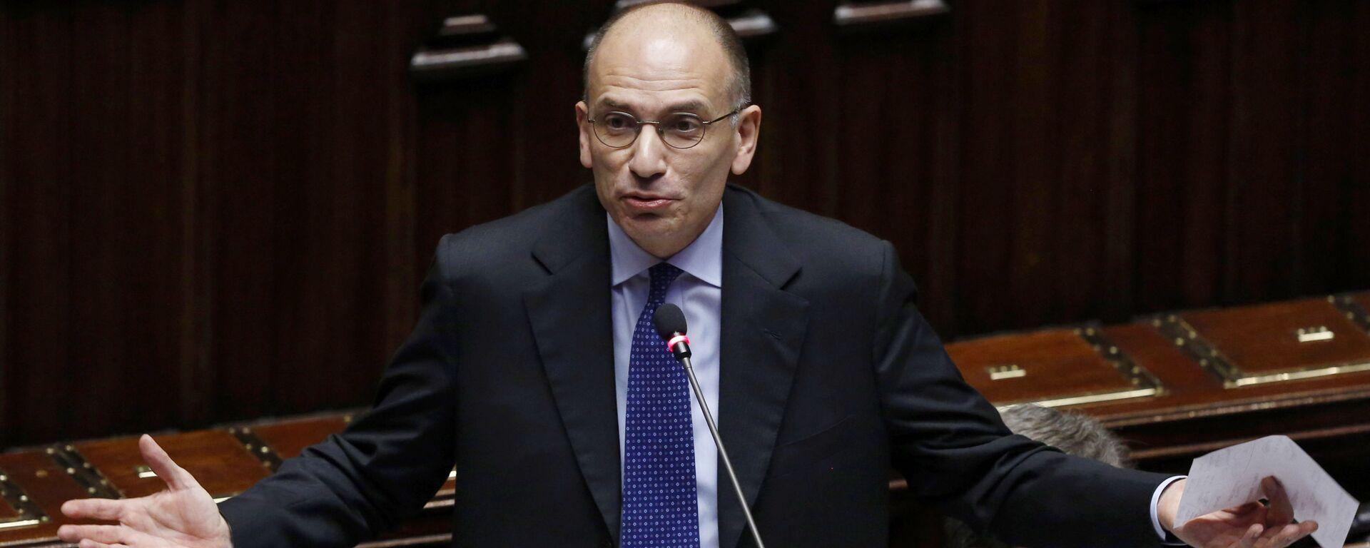 Enrico Letta, segretario del Partito Democratico - Sputnik Italia, 1920, 19.07.2021