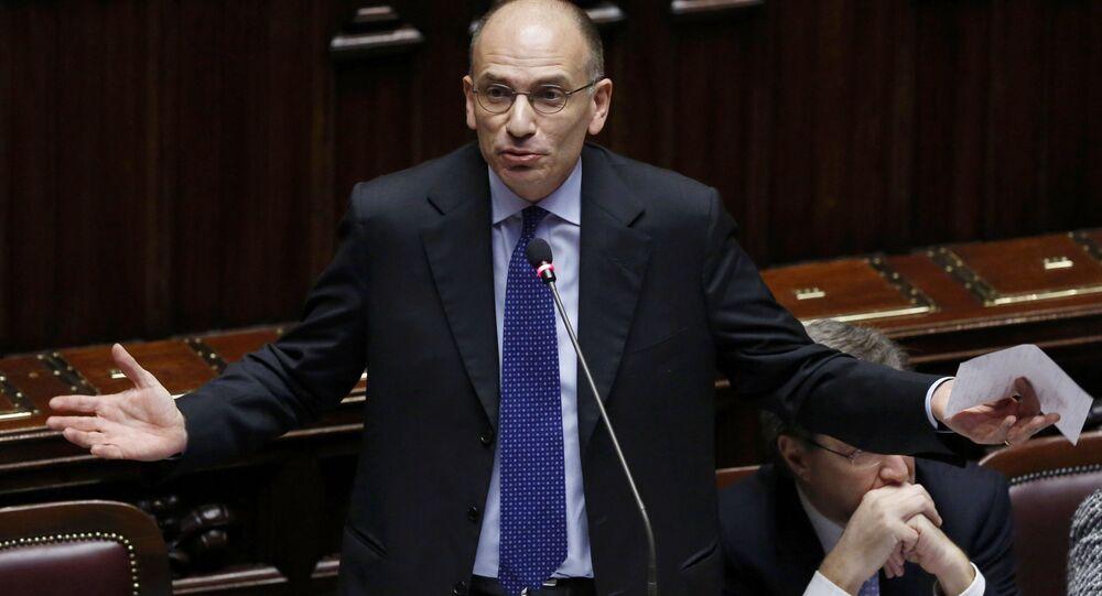 Enrico Letta, segretario del Partito Democratico