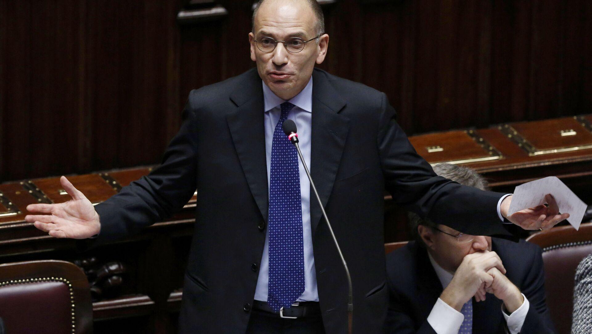 Enrico Letta, segretario del Partito Democratico - Sputnik Italia, 1920, 15.05.2021