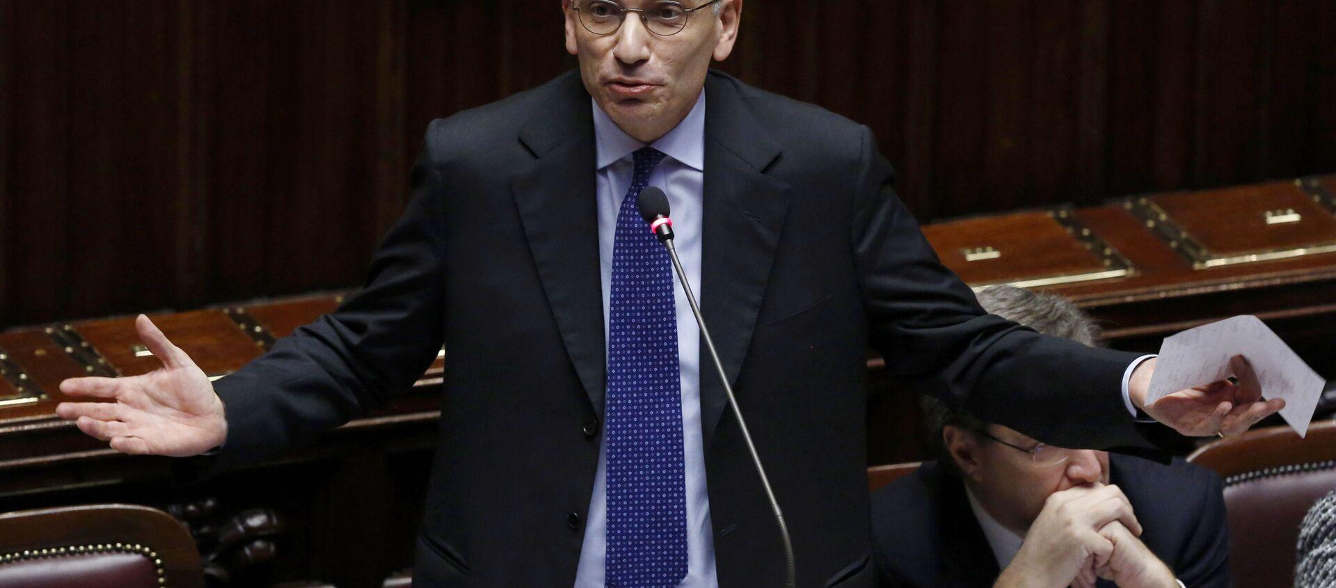 Enrico Letta, segretario del Partito Democratico - Sputnik Italia, 1920, 12.05.2021