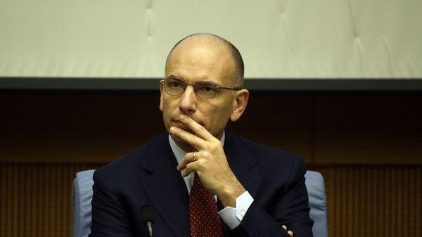 Enrico Letta, segretario del Partito Democratico - Sputnik Italia