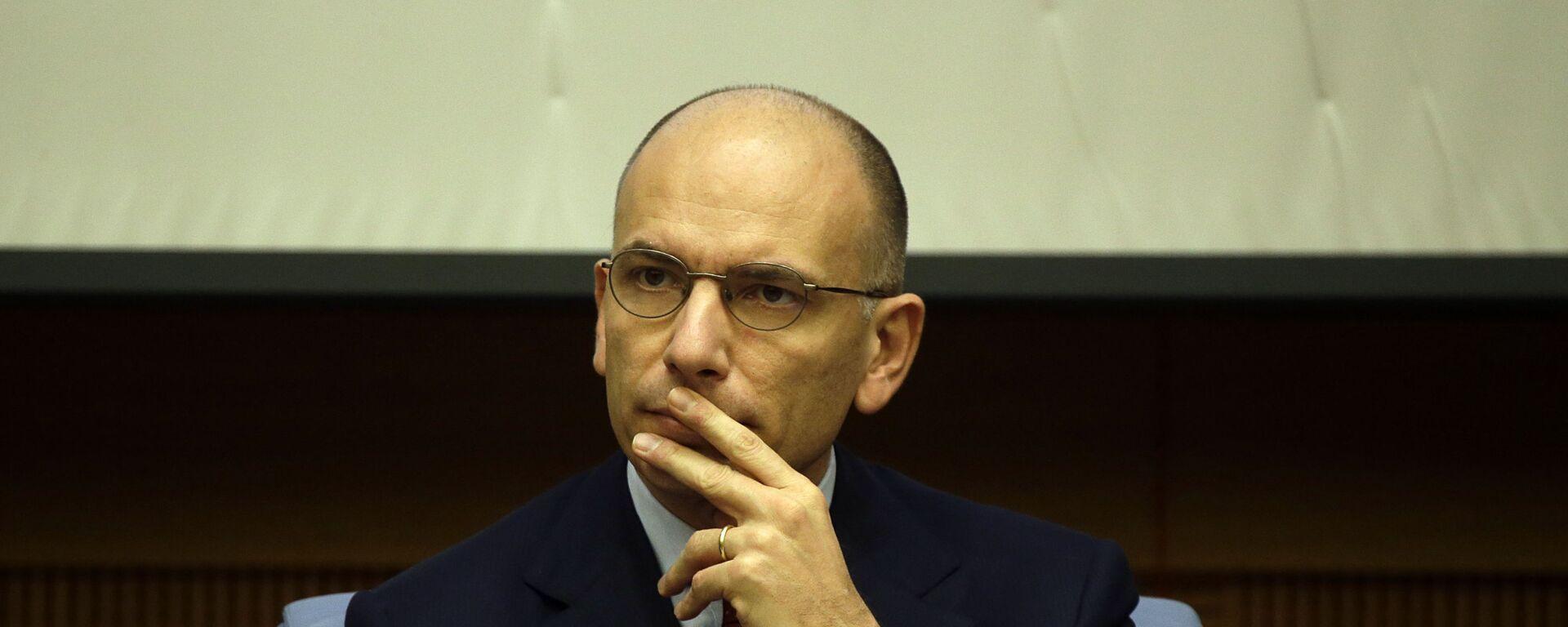 Enrico Letta, segretario del Partito Democratico - Sputnik Italia, 1920, 11.04.2021