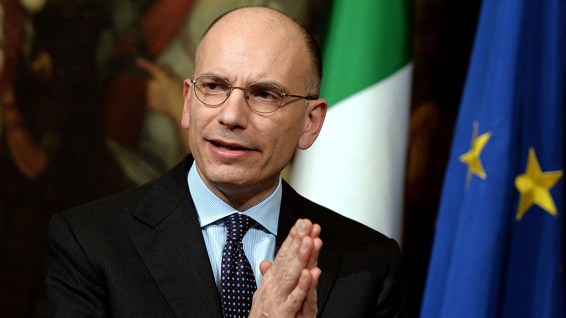 Enrico Letta, segretario del Partito Democratico - Sputnik Italia, 1920, 01.06.2021