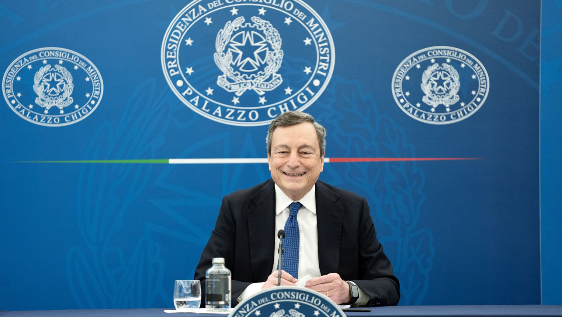 Il premier Mario Draghi - Sputnik Italia, 1920, 16.04.2021