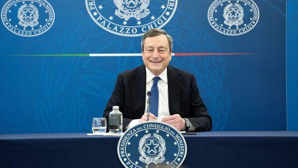Il premier Mario Draghi - Sputnik Italia