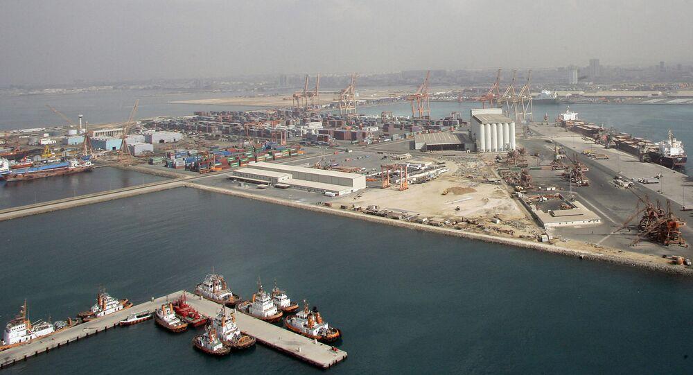Porto di Gedda, Arabia Saudita