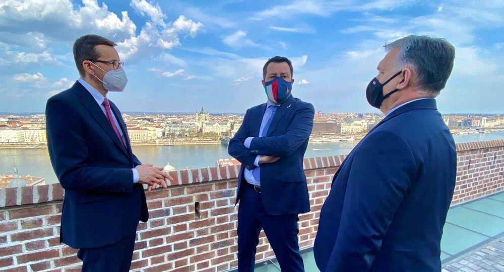 Salvini incontra premier Ungheria e Polonia per