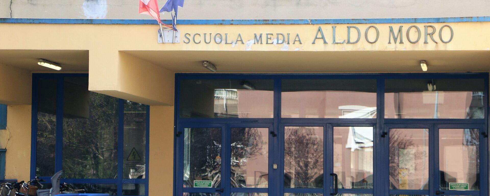 Scuola media Aldo Moro - Sputnik Italia, 1920, 28.04.2021