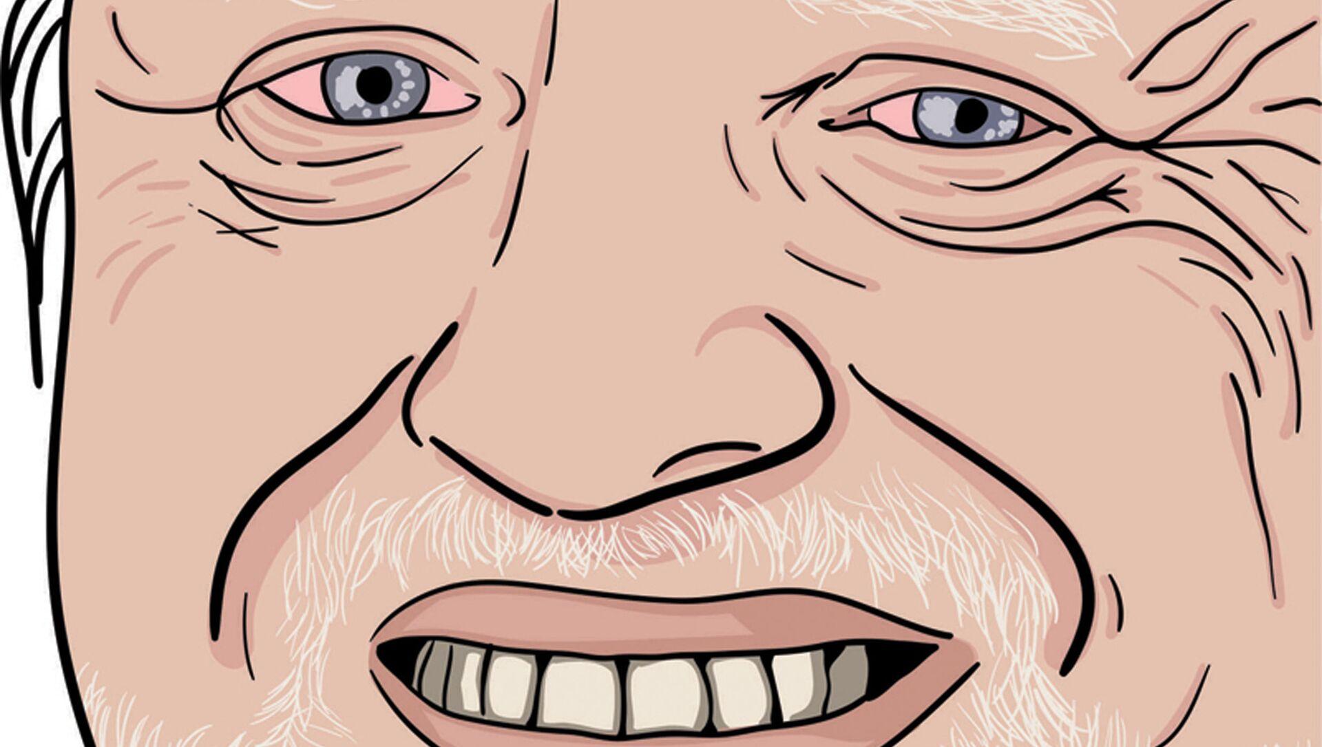 András Arató, un ingegnere elettrico e modello ungherese in pensione, meglio conosciuto per essere diventato un meme di Internet Hide the Pain Harold - Sputnik Italia, 1920, 18.05.2021