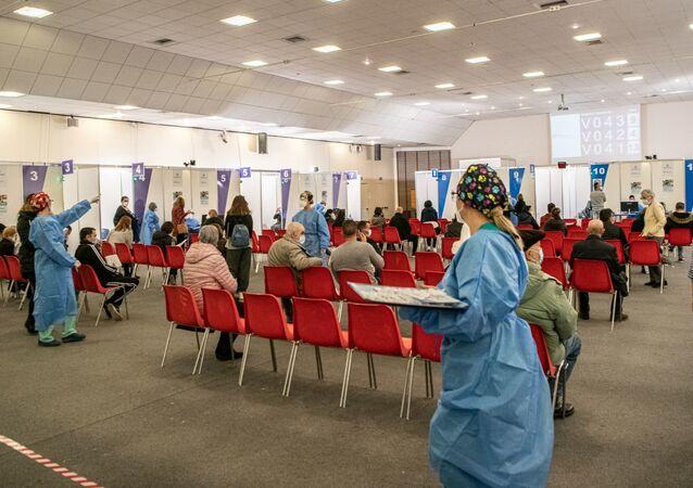 L'hub vaccinale operativo a Cagliari presso la Fiera Campionaria