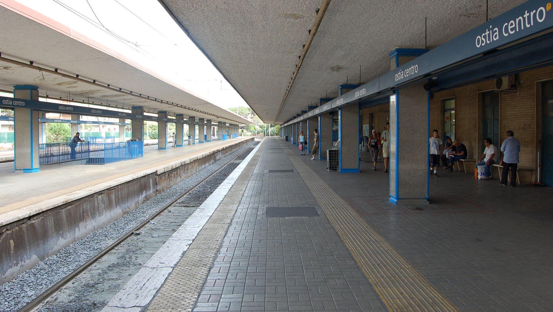 Stazione di Ostia Centro - Sputnik Italia, 1920, 07.04.2021