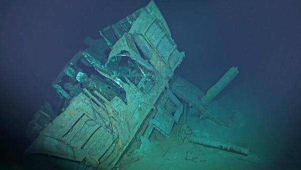 Relitti del cacciatorpediniere Fletcher US Navy (DD-557) - Sputnik Italia