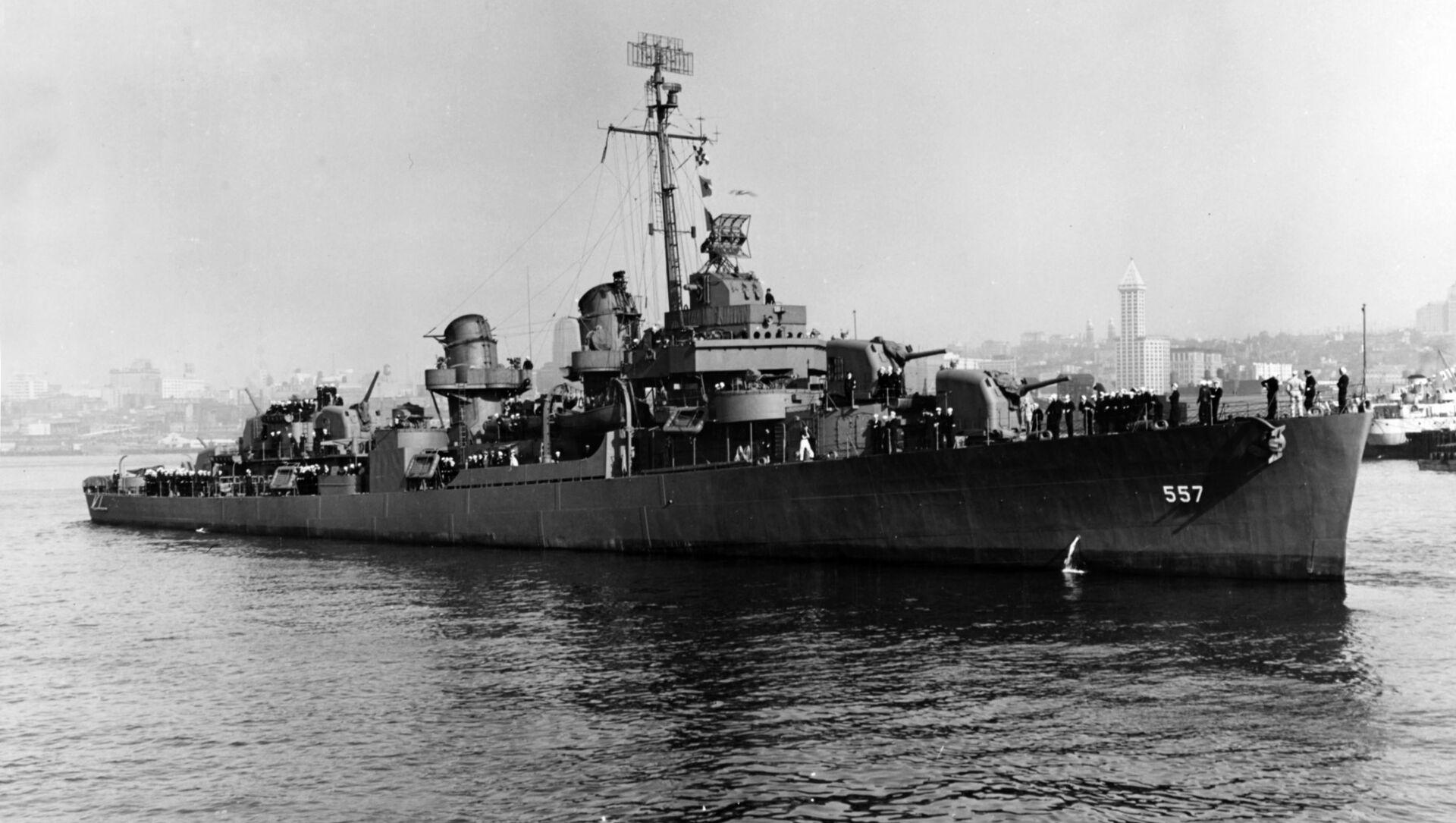 USS Johnston (DD-557) - Sputnik Italia, 1920, 18.05.2021
