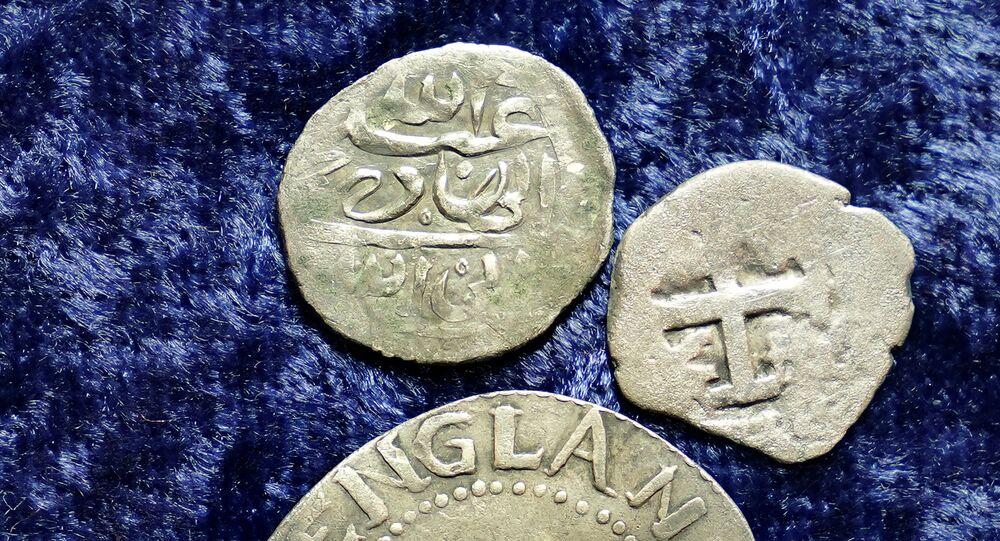 Monete arabe trovate negli Stati Uniti