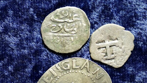 Monete arabe trovate negli Stati Uniti - Sputnik Italia