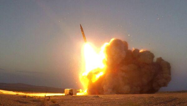 "The ""Martyr Hajj Qassem"" surface-to-surface ballistic missile  - Sputnik Italia"
