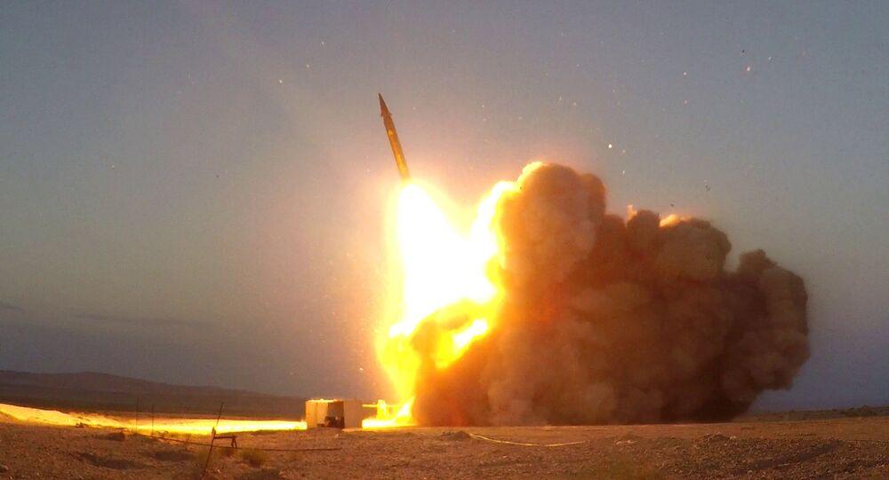 "The ""Martyr Hajj Qassem"" surface-to-surface ballistic missile"