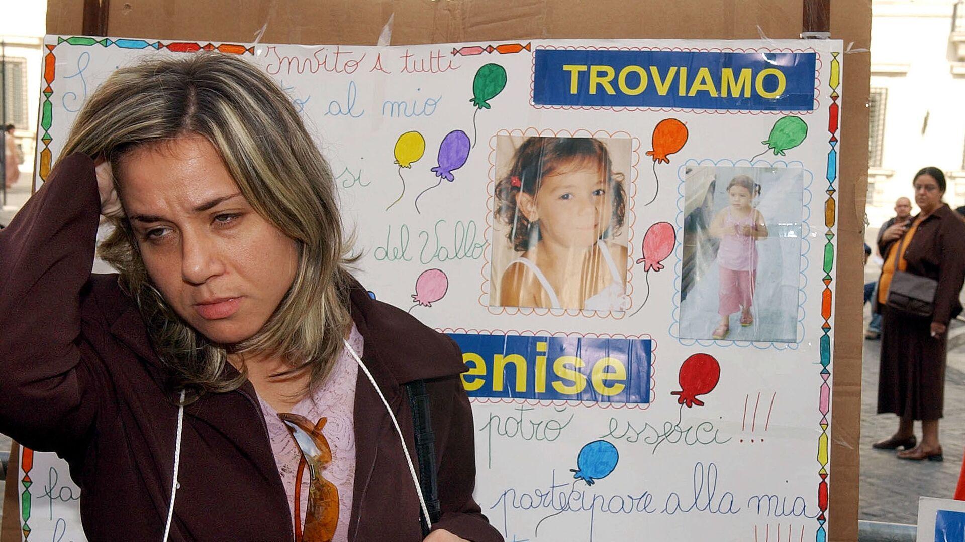 La madre della ragazza scomparsa Denise Pipitone con le sue foto a Roma - Sputnik Italia, 1920, 06.05.2021