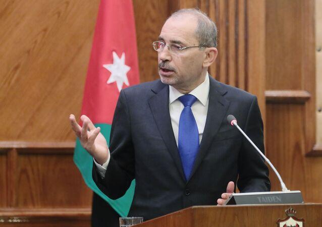 Ayman Safadi, ministro degli Esteri della Giordania
