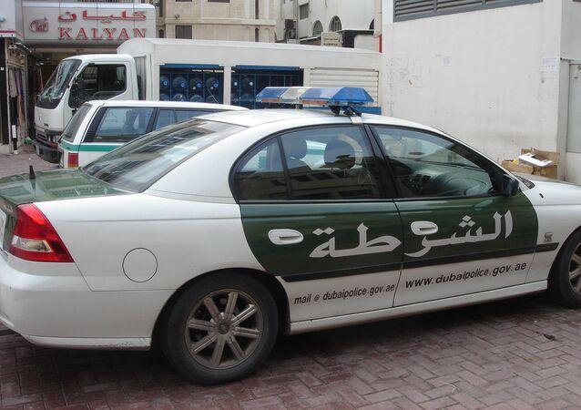 Polizia a Dubai